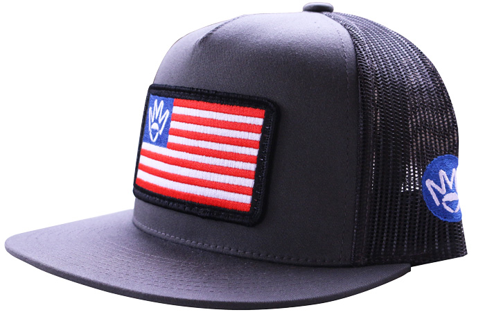 Mika Metals America Patch Hat